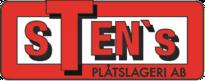 Sten Holms plåtslageri Logo